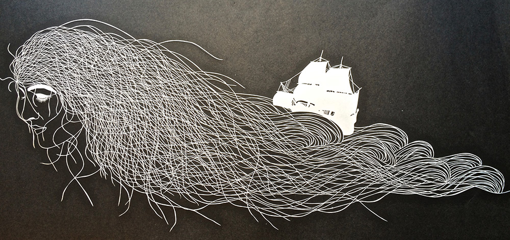 Paper Cut By Maude White