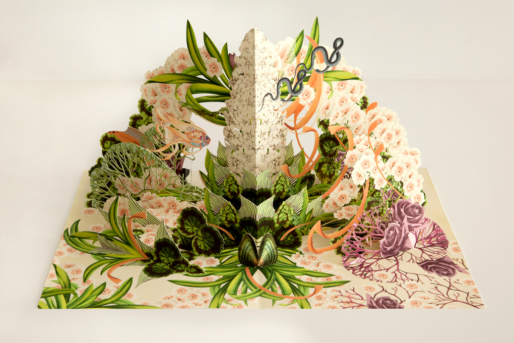3d Pop Up Paper Creations By Bozka Stampede Curated