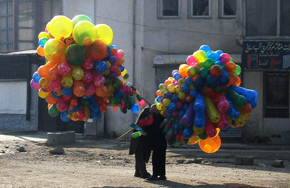The Balloon Sellers Of Kabul, Afghanistan