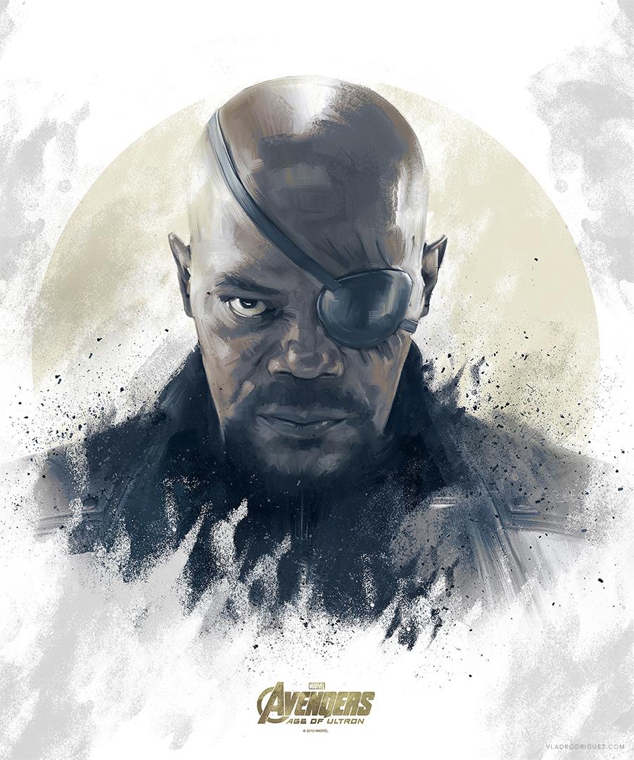 Avengers - Nick Fury