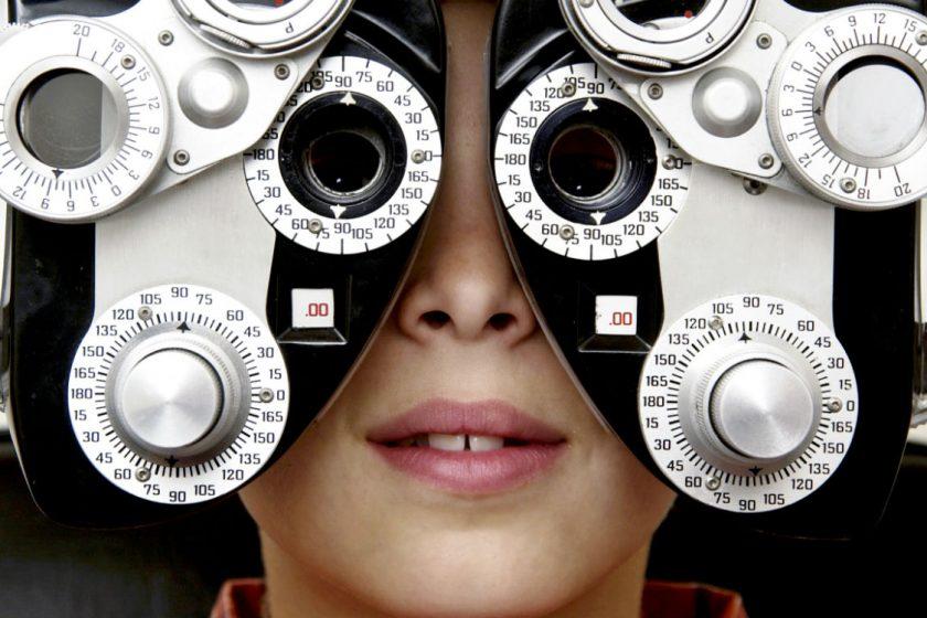 eye chart - curated