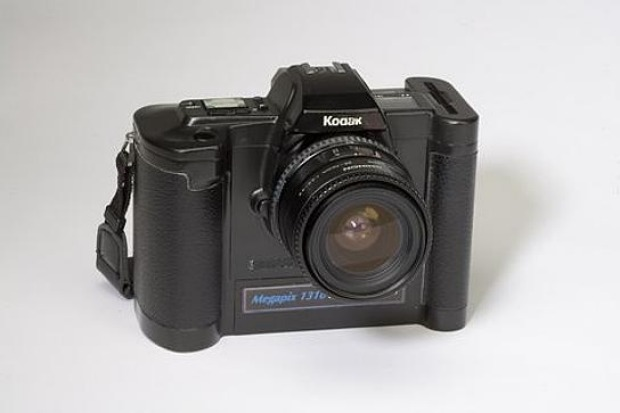 The 1989 version of the digital camera, known as the Ecam (electronic camera). This is the basis of the United States patent issued on May 14, 1991.