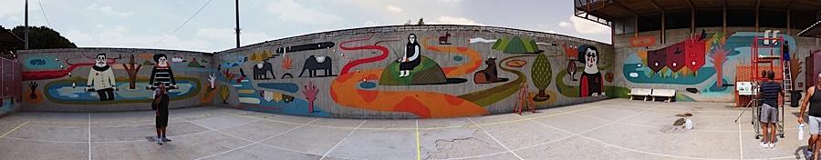 Agostino Lacurci - Large Murals