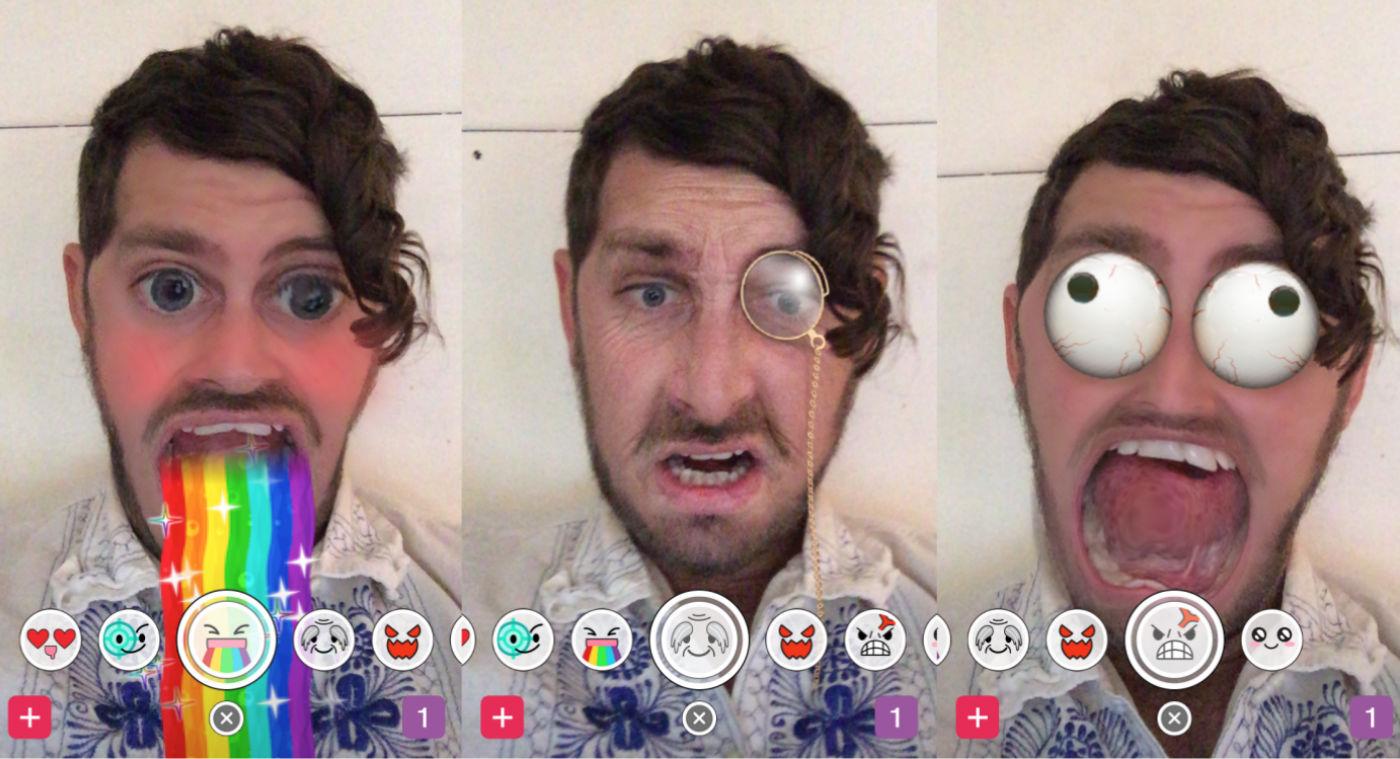 Snapchat Rainbow Filter