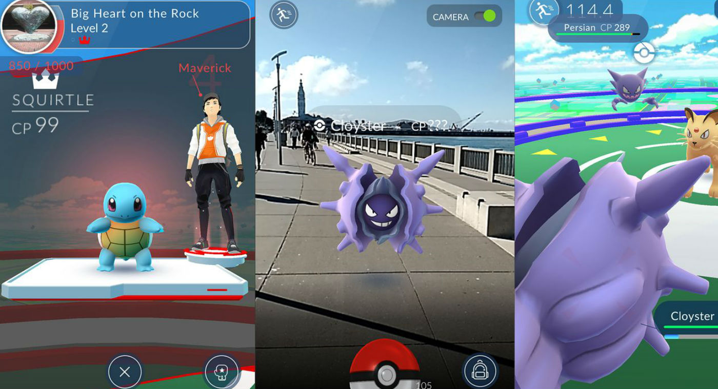 Pokemon Go in Curated